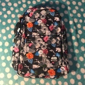 Handbags - Star Wars Floral Loungefly Backpack